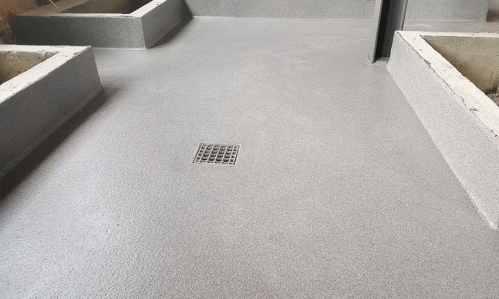 Küche - Boden und Podeste
