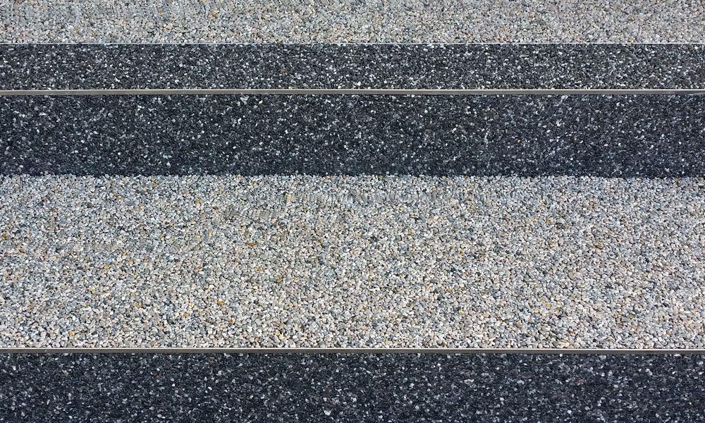 Steinteppiche aus Marmor und Quarzstein
